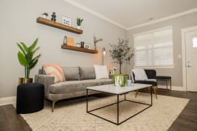 Dawn Sunny Living Room