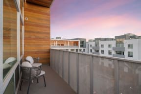 Balcony And Patio at The Q Variel, Woodland Hills, 91367