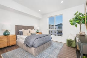 Beautiful Bright Bedroom With Wide Windows at The Q Variel, Woodland Hills, CA
