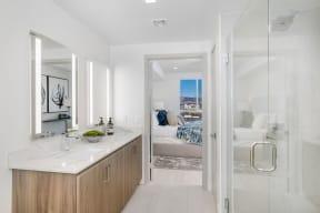 Luxurious Bathrooms at The Q Variel, Woodland Hills, 91367