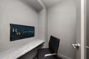 Riverwalk private office pods