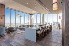 Lincoln Common Apartments North Tower Sky Lounge