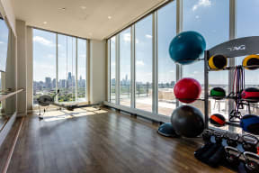 Apartments at Lincoln Common South Tower Yoga Studio
