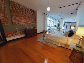 Mercantile Lofts Interior Bedroom