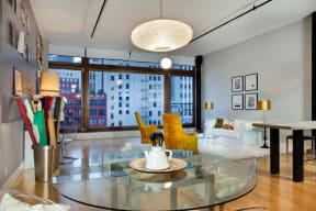 Mercantile Lofts Loft Interior Living Space