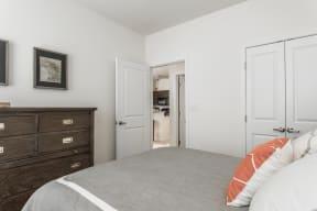 Designer Plush Carpeting in Bedrooms at 310 @ Nulu Apartments, Louisville, 40202