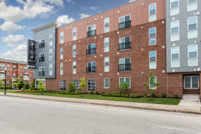 Exquisite Exterior at 310 @ Nulu Apartments, Louisville, KY, 40202