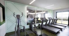 Fitness center at 310 @ Nulu Apartments, 310 S. Hancock Street, Louisville