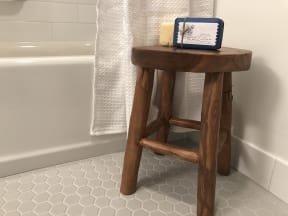 Bathroom Stool | Farmstead at Lia Lane in Santa Rosa, CA 94928