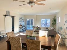 Dining Table & Living Room | Farmstead at Lia Lane in Santa Rosa, CA 94928