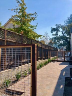 Private Patio at Farmstead at Lia Lane in Santa Rosa, CA 94928