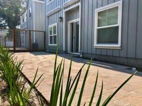 Private Patio | 2X2 Floor Plans at Farmstead at Lia Lane in Santa Rosa, CA 94928