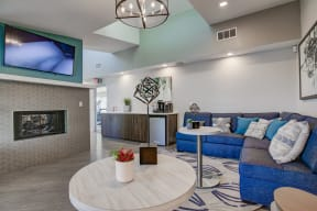 Relaxing Resident Lounge