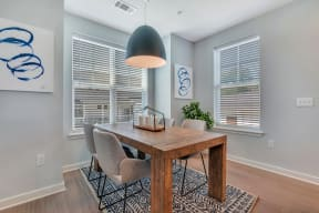 Dining Room or Home Office Space at Alta Croft, Charlotte, NC