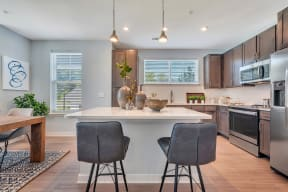 Gourmet Kitchens with Prep Islands at Alta Croft, Charlotte, NC, 28269