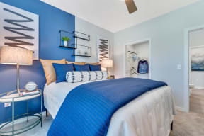 Well Lite Bedroom at Alta Croft, Charlotte, 28269