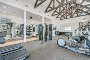 The Fitness Center Is Open 24/7 at Alta Croft, Charlotte