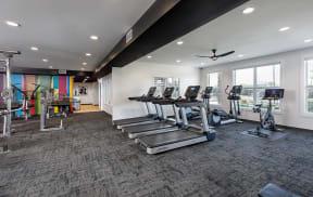 BRAND NEW Fitness Center with Peloton® Bike
