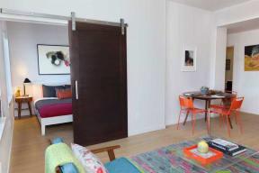 Burnside 26 in Portland, OR one bedroom sliding door