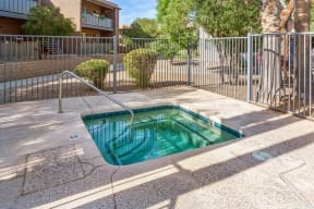 Outdoor hot-tub spa