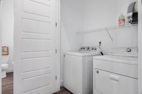Model laundry room