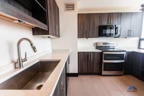 Two East Oak Tenant Lounge Kitchen
