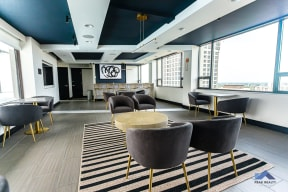 Two East Oak Tenant Lounge Modern Seating