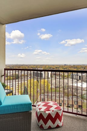 The Edina Towers Apartments in Edina, MN Private Balcony