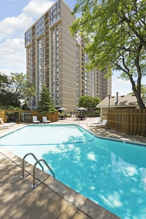 The Edina Towers Apartments in Edina, MN Outdoor Pool