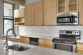 Updated 2 Bedroom Kitchen