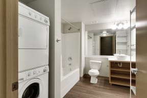 2 Bedroom/Bathroom and In Unit Laundry