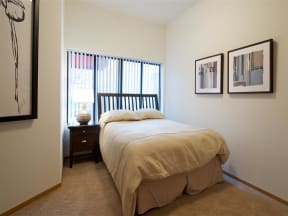 Mears Park Place Apartments in Saint Paul, MN Bedroom