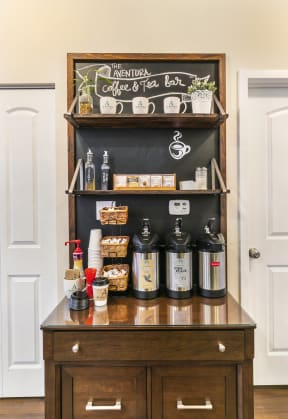 Coffee And Tea Bar at Aventura at Forest Park, St. Louis