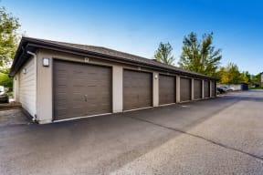 Outdoor parking garages
