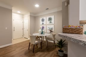 Carrington at Perimeter Park Apartment Dining Room
