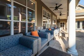 Carrington at Perimeter Park Outdoor Lounge