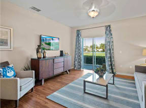 Princeton Parc Apartment Living Room