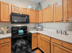 Princeton Parc Apartment Kitchen