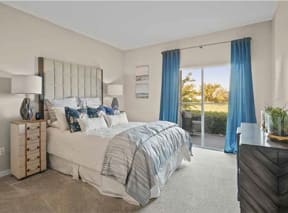 Princeton Parc Apartment Bedroom