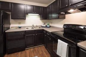 Fully Equipped Kitchen, at The Woods of Burnsville, Minnesota, 46204