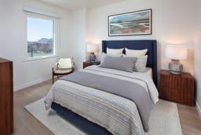 Lavish Bedroom at North+Vine, Chicago