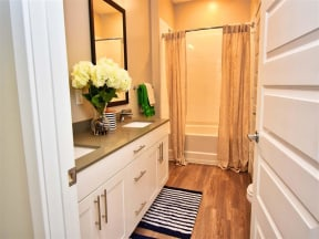 Luxurious Pointe at Lake CrabTree Bathrooms in Morrisville, NC Apartment Homes