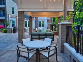 Large Personal Pointe at Lake CrabTree Patio in North Carolina Apartments