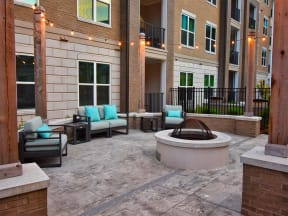 Outdoor Pointe at Lake CrabTree Patio in Morrisville, NC Apartments for Rent