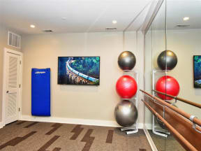 State-Of-The-Art Pointe at Lake CrabTree Gym And Spin Studio in Morrisville, NC Apartments