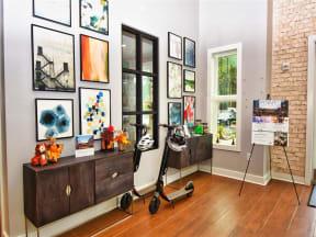 Art Gallery at Pointe at Lake CrabTree Rental Homes in North Carolina