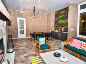 Open Pointe at Lake CrabTree Kitchen Floor Design in Morrisville Apartment Homes