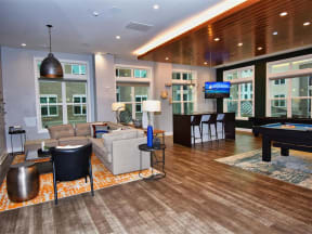 Large Multi-Activity Pointe at Lake CrabTree Clubhouse in Morrisville Apartments for Rent