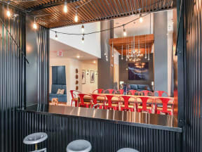 Unique Coda Orlando clubhouse for apartment residents to enjoy in Orlando, FL