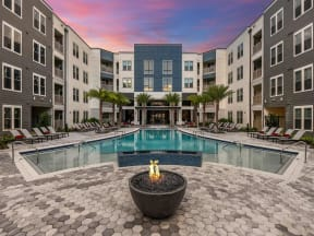 Exclusive swimming pool as community amenity for Orlando, FL apartment residents